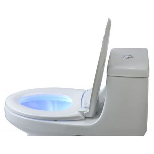 Brondell Luma Warm Heated Nightlight Toilet Seat - Biscuit Color