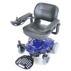Drive Cobalt X23 Power Wheelchair, Blue