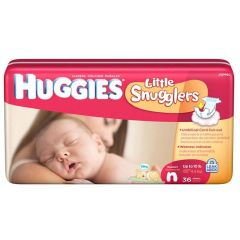 Huggies Newborn Baby Diapers - Size N to 10 lbs.