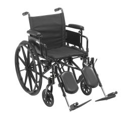 Drive Cruiser X4 Lightweight Dual Axle Wheelchair with Adjustable Detatchable Arms