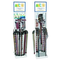 Invacare Supply Group Aluminum Cane Display