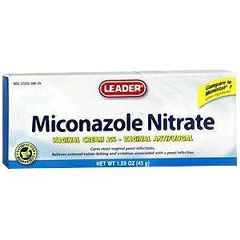 Cardinal Health Leader Miconazole Nitrate Vaginal Cream