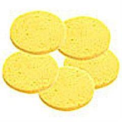 ScripHessco Round Facial Sponges 2.75' 10-Pack