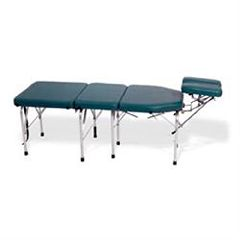 Lloyd C-108A Portable Table W/Tilt & Elevating Headpiece Adjustable Height