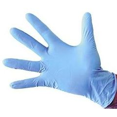 McKesson Confiderm®  Nitrile Exam Gloves - NonSterile, PowderFree, Textured, Blue