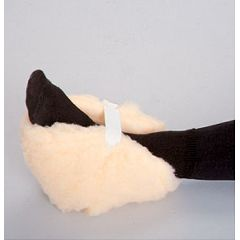 AliMed Stay-On Sheepskin Heel Protectors