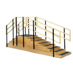 Convertible Exercise Stairs, 4 And 8 Steps