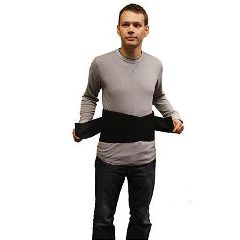 Roscoe Medical Double Pull Closure Back Brace