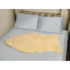 "Deluxe Natural Sheepskin - 36"" x 36"""