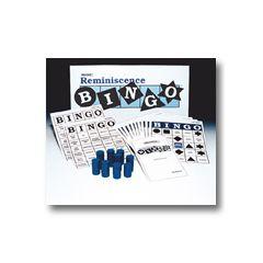 Reminiscence Bingo Board Game