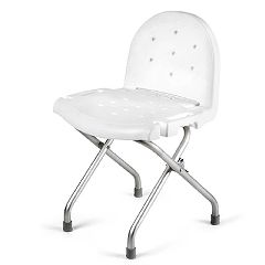 Invacare Folding Shower Chair with Back - Folding Shower Chair ...