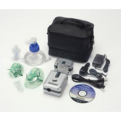 DeVilbiss Traveler Portable Compressor Nebulizer System with Battery