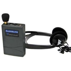 Williams Sound Llc Williams Sound Pocketalker Pro Personal Sound Amplifier with Heavy Duty Folding Headphone H27