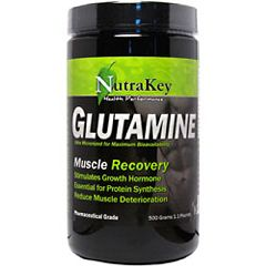 Nutrakey L-Glutamine Amino Acid Supplement 500g