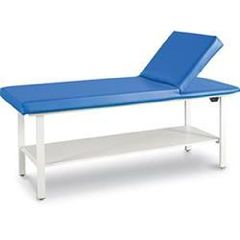 "Winco Pro-Series Table W/ Adjustable Back & Shelf 25""H"