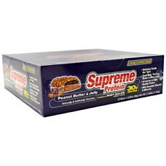 Carb Conscious Supreme Protein Carb Conscious Quadruple Layer Protein Bar - Peanut Butter & Jelly