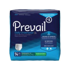 Prevail Maximum Absorbency Protective Underwear for Men, Extra Extra Large