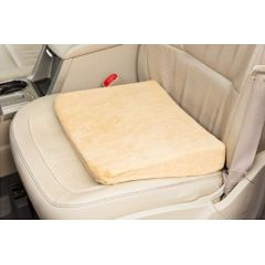 CareActive Memory Foam Seat Riser With Velour Cover