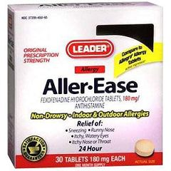 Cardinal Health Leader Aller-Ease Tablets