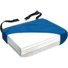 Tri-Foam Visco Bariatric Solid Seat Cushion w/LSII Cover