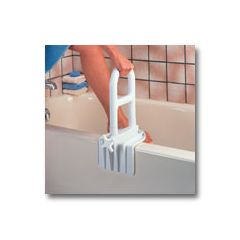 Bi-Level Tub Grab Bar.