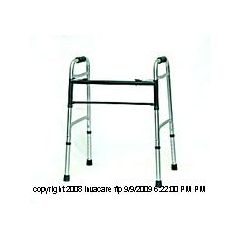 Invacare Supply Group Bariatric Walker & Wheel Kit