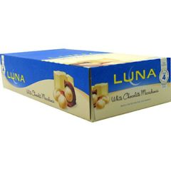 Luna Clif Luna The Whole Nutrition Bar for Women - White Chocolate Macadamia