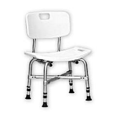 Invacare Supply Group Bariatric Bath Chair with Back - 500 lb. Capacity