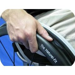 New Solutions Natural-Fit Handrim Ergonomic Grips for Wheelchairs