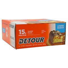 Detour Low Sugar Forward Foods Detour Low Sugar Whey Protein Bar - Caramel Peanut