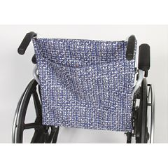 AliMed Navy Print Wheelchair Back Covers
