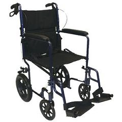 Roscoe Medical Standard Transport Chair