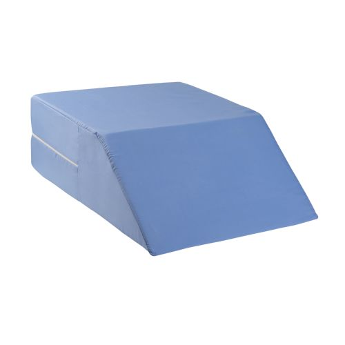 Mabis DMI DMI Ortho Bed Wedge Elevating Leg Rest Cushion Pillow, Blue Model 834 585988 01