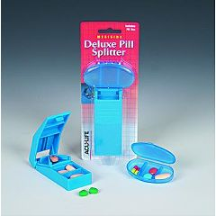 Health Enterprises Aculife Deluxe Pill Splitter with Pill Box
