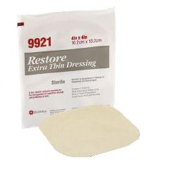 "Restore Extra Thin Hydrocolloid Dressing 4 x 4"""