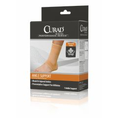 CURAD Elastic Open Heel Ankle Supports