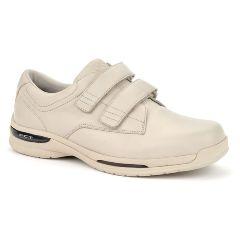 Oasis Men's  Nevis Hook & Loop Tan Diabetic Shoe