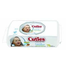Cuties Unscented Baby Wipes