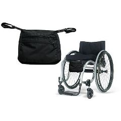 Wheelchair Under Seat Bag - Wheelchair Seat Pouch