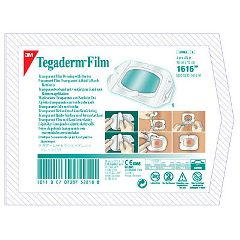 "3M Tegaderm Transparent Film Dressing - 4"" x 4-3/4"""