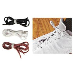 Ableware Perma-Ty Elastic Shoelaces - Tie once and never again