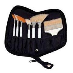 ScripHessco Synthetic Body Brush Set, 7Pc