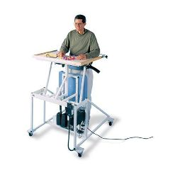 Hausmann Electric Lift Stand-In Table