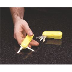 Fabrication Plastic 2-Key Holder