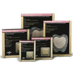 Medline Optifoam Gentle Silicone Border Dressings