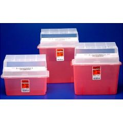 SharpSafety In Room Containers - Mailbox Style Lid - 5 qt.