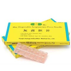 Medical Technology Products Mac Disposable Acupunture Press Needles .20mm x 1.5mm