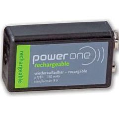 Rechargable NiCd 9 Volt Battery