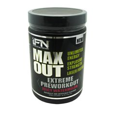 iForce Nutrition Max Out - Juicy Watermelon