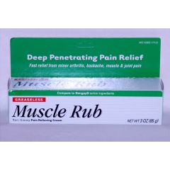 Muscle Rub Pain Relief Cream
